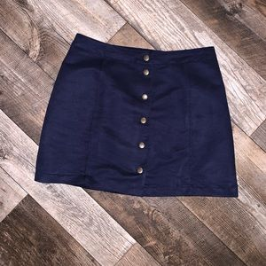Old navy suede skirt